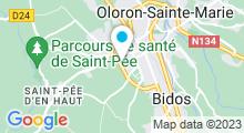 Plan Carte Piscine à Oloron Ste Marie