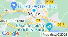 Plan Carte Piscine à Orthez