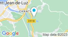 Plan Carte Piscine de St Jean de Luz