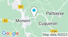 Plan Carte Piscine de Monein