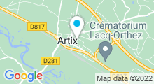 Plan Carte Piscine à Artix