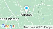 Plan Carte Piscine à Arrosès