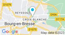 Plan Carte Piscine Carré d'eau à Bourg en Bresse
