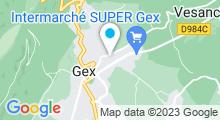 Plan Carte Piscine à Gex