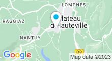 Plan Carte Piscine à Hauteville Lompnes
