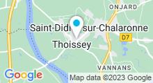 Plan Carte Piscine à Thoissey