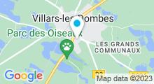 Plan Carte Centre aquatique Nauti Dombes - Piscine Gisèle Baconnier à Villars les Dombes