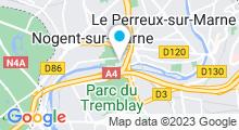 Plan Carte Nogent Nautique - Piscine à Nogent-sur-Marne