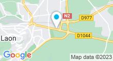 Plan Carte Piscine Le Dôme à Laon