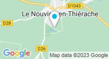 Plan Carte Piscine à Le Nouvion en Thierache