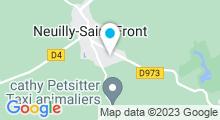 Plan Carte Piscine à Neuilly Saint Front
