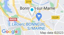 Plan Carte Piscine Marcel Dumesnil de Bonneuil-sur-Marne