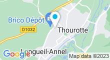 Plan Carte Piscine Georges Bonichot à Thourotte