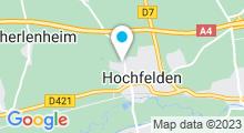 Plan Carte Centre aquatique Atoo-o - Piscine du pays de la Zorn à Hochfelden