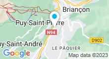 Plan Carte Centre aquatique - Piscine à Briançon