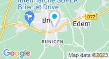 Plan Carte Piscine Aquacove à Briec de l'Odet