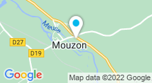 Plan Carte Centre aquatique Camourau - Piscine de Mouzon