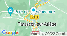 Plan Carte Piscine à Tarascon sur Ariège