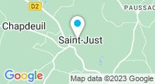 Plan Carte Piscine à Saint Just