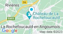 Plan Carte Piscine à La Rochefoucauld