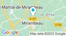 Plan Carte Piscine à Mirambeau