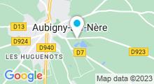 Plan Carte Piscine des étangs à Aubigny sur Nère