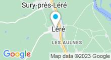 Plan Carte Centre Nautique des Presles - Piscine à Belleville sur Loire