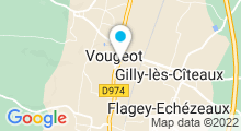 Plan Carte Piscine de Vougeot