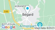 Plan Carte Armoripark à Begard