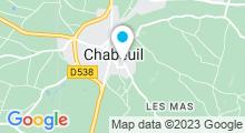Plan Carte Piscine à Chabeuil