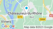 Plan Carte Piscine à Chateauneuf du Rhône