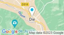 Plan Carte Centre aquatique L'Ilébulle - Piscine à La Flèche