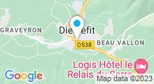 Plan Carte Piscine Jean Jouve à Dieulefit