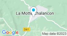 Plan Carte Piscine à La Motte Chalancon
