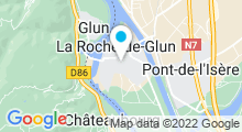 Plan Carte Piscine à La Roche de Glun