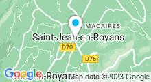Plan Carte Piscine à Saint Jean en Royans