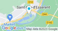 Plan Carte Base de loisirs de Saint-Leu d'Esserent