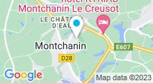 Plan Carte Piscine de Montchanin