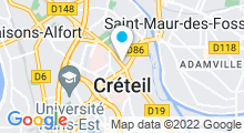 Plan Carte Piscine du Colombier à Créteil