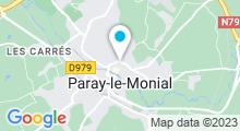 Plan Carte Complexe Nautique - Piscine de Paray le Monial