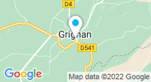 Plan Carte Piscine à Grignan