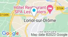 Plan Carte Piscine à Loriol sur Drome