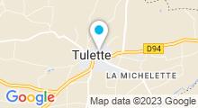 Plan Carte Piscine à Tulette