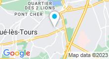 Plan Carte Piscine Alouette à Joue les Tours