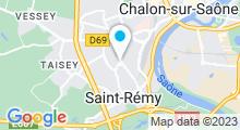 Plan Carte Piscine de Saint Rémy