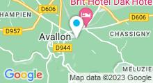 Plan Carte Piscine à Avallon