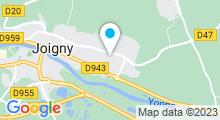 Plan Carte Piscine de Joigny