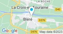Plan Carte Piscine à Bléré
