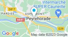 Plan Carte Piscine du Pays d'Orthe à Peyrehorade