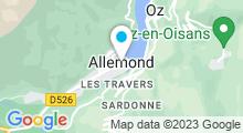 Plan Carte Piscine à Allemont